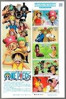 Nippon 2011 Animation Hero And Heroine Series N° 15 (One Piece) - Blocks & Sheetlets