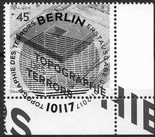 """2017 Allem. Fed. Mi. 3276 FD-used Berlin EUR   25 Jahre Stiftung """"Topographie Des Terrors - Gebraucht"""