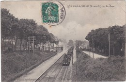 F77-025 COMBS LA VILLE - La Gare - Combs La Ville