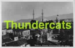 CPA CARTE DE PHOTO SAMSOUN SAMSUN UMUMI MANZARASININ BIR KISMI - Turquie