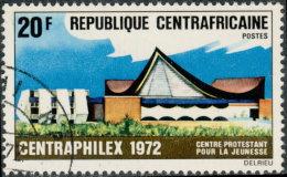 """Centrafricaine 1972. ~ YT 183 - """"Centraphilex'72"""". Centre Protestant Jeunesse - Centrafricaine (République)"""