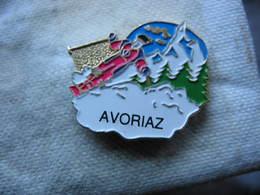 Pin's De La Station De Ski AVORIAZ - Winter Sports