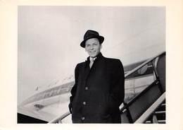 CPM - Photo Frank Sinatra - 16 Avril 1956 - Star 135 - Avion Air France - Photographie