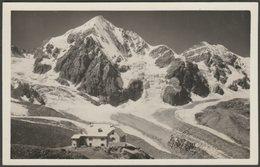 Rifugio Città Di Milano & Gran Zebrù, Alto Adige, C.1930s - Baehrendt Foto Cartolina - Italy