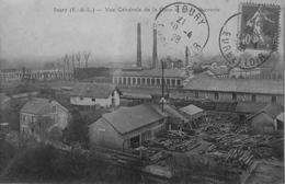 Toury : Vue Générale De La Gare Et De La Sucrerie - France