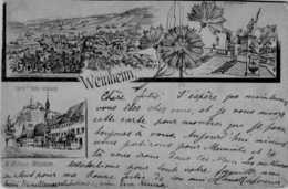 Allemagne > Bade-Wurtemberg > Weinheim/   :LOT  267 - Weinheim