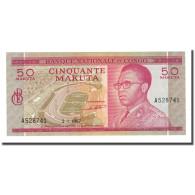 Billet, Congo Democratic Republic, 50 Makuta, 1967-01-02, KM:11a, NEUF - Democratic Republic Of The Congo & Zaire