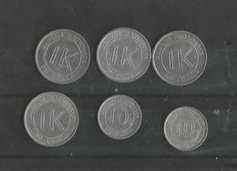 Lot De Monnaies République Démocratique Du Congo - Congo (Democratische Republiek 1964-70)