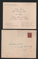 ANTHONY EDEN BEATRICE BECKETT BELGRAVE SQ F.O. NEPAL DETTMAR DRESSEL 1935 - Tickets - Vouchers