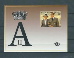 Belgique Belgïe LX 84 Feuillet Luxe Velletje - SUPERBE - RARE 850 Ex - COB 185 € - Luxevelletjes