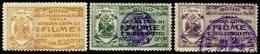 ITALY, Municipal Revenues, */o M/U, F/VF - Revenue Stamps