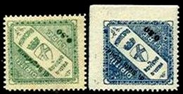 ITALY, Municipal Revenues, */** MLH/MNH, F/VF - 1900-44 Victor Emmanuel III.