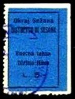 ITALY, Municipal Revenues, Used, F/VF - 1900-44 Victor Emmanuel III.