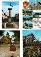 18 / CHER /  Lot De 90 Cartes Postales Modernes écrites - Cartes Postales