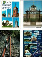 25 / DOUBS /  Lot De 90 Cartes Postales Modernes écrites - Cartes Postales
