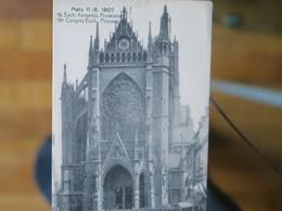 BZ - 57 - METZ - 18 éme Congres Euch. Procession  - 11/8/1907 - Euch. Kongress Prozession - Metz