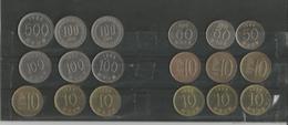 Lot De Monnaies Corée Du Sud - Corée Du Sud