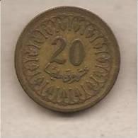 Tunisia - Moneta Circolata Da 20 Millim - 1960 - Tunisia