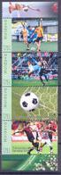 2018. Moldova, My Personal Stamp, World Football Championship 2018, 4v In Strip, Min/** - Moldavie