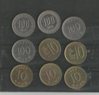 Lot De Monnaies Corée Du Sud - Korea, South