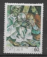 PORTUGAL 1989 PAINTING BY JULIO POMAR - 1910-... République