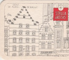 Sous Bock  Stella Artois   Oude Cafee's   - Gent - Sous-bocks