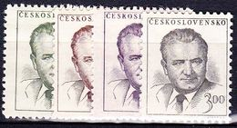 ** Tchécoslovaquie 1953 Mi 808-11 (Yv 712-5), (MNH) - Unused Stamps