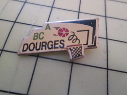 612a Pin's Pins : Rare Et Belle Qualité  SPORTS / BASKET BALL CLUB ABC DOURGES - Basketball