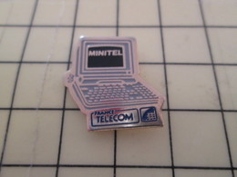 811A Pin's Pins : Rare Et Belle Qualité  FRANCE TELECOM / MINITEL - France Telecom