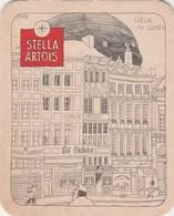 Sous Bock Stella Artois Oude Cafee's - Liege - Sous-bocks
