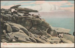 Pulpit Rock, St Mary's, Isles Of Scilly, 1905 - Peacock Postcard - Scilly Isles
