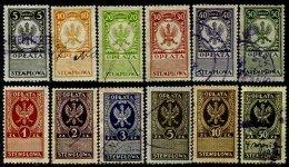 POLAND, Revenues, */o M/U, F/VF - Revenue Stamps