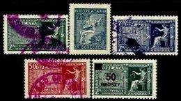 POLAND, Justice Fees, */o M/U, F/VF - Revenue Stamps