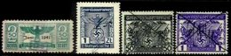 POLAND, German Occupation, Used, F/VF - Revenue Stamps