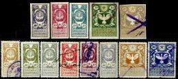 POLAND, Treasury, */o M/U, F/VF - Revenue Stamps