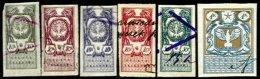 POLAND, Treasury, Used, F/VF - Revenue Stamps