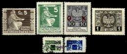 POLAND, Radio Tax, */o M/U, F/VF - Revenue Stamps