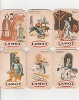 Sous Bock    Lamot  Serie Compleet  6 Stuks   -Folklore De Maline - Sous-bocks
