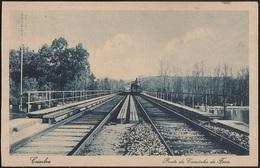 Postal Portugal - Coimbra - Ponte Do Caminho De Ferro - Train - Railways - Railroad Bridge - PostCard - CPA - Coimbra