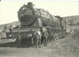 POSTAL E81. LOCOMOTORA MZA-1727 - Treni