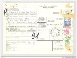Bulletin D'Expédition - Italie- Cachets Et Vignette SESTO SAN GIOVANNI  - 1981 - Timbres-Poste ITALIA - 1946-.. République
