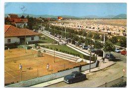 Espagne --- LAREDO --1965--Tennis Club  Et La Plage ( Petite Animation Et Voiture Peugeot  403 ) - Cantabria (Santander)