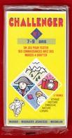 CHALLENGER 1 JEU TEST DE 7 à 9 ANS N°1 DES ANNÉES 1992 PUBLICITÉ BIBENDUM MICHELIN MANGO MAGNARD J - NOTRE SITE Serbon63 - Group Games, Parlour Games