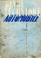 REVUE TECHNIQUE AUTOMOBILE - Septembre 1947 - Simca 5 (voir Sommaire) - Auto