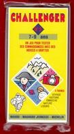 CHALLENGER 1 JEU TEST DE 7 à 9 ANS N°2 DES ANNÉES 1992 PUBLICITÉ BIBENDUM MICHELIN MANGO MAGNARD J - NOTRE SITE Serbon63 - Group Games, Parlour Games