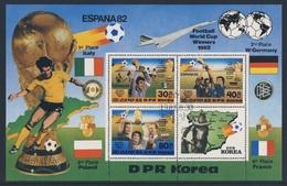 Korea North 1982 B 124 (=Mi 2271 /3) - Cancelled To Order - Football World Cup Winners 1982/ Gewinner Fußballweltmeister - 1982 – Espagne
