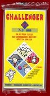 CHALLENGER 1 JEU TEST DE 7 à 9 ANS N°5 DES ANNÉES 1992 PUBLICITÉ BIBENDUM MICHELIN MANGO MAGNARD J - NOTRE SITE Serbon63 - Group Games, Parlour Games