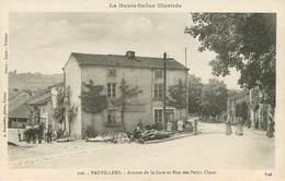 Dép 70 - Vauvillers - Avenue De La Gare Et Rue Des Petits Clous - état - Autres Communes