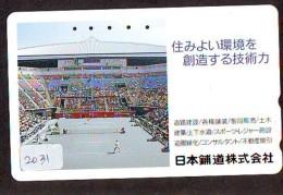 Télécarte Japon * Sport *  TENNIS  *  *  (2031)  PHONECARD JAPAN * TELEFONKARTE * - Sport