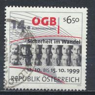 °°° AUSTRIA 1999 - Y&T N°2125 °°° - 1945-.... 2a Repubblica
